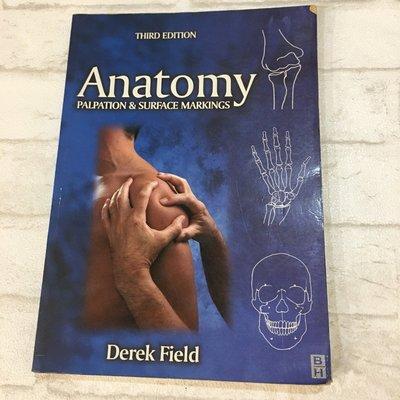 [二手書籍] Anatomy 英文版 解剖學 教科書 專科 大學用書 物理治療 *舊愛二手*
