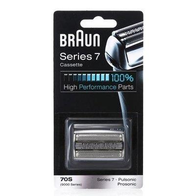 BRAUN 百靈牌 7系 電鬚刨替換刀頭連刀網 (銀色/黑色) Series 7 Cassette Replacement Foil & Cutter Pack