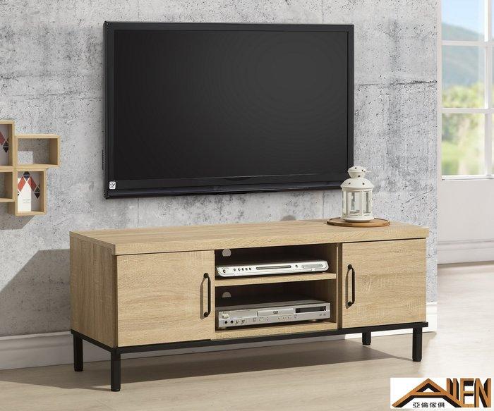 亞倫傢俱*達拉斯4尺電視櫃