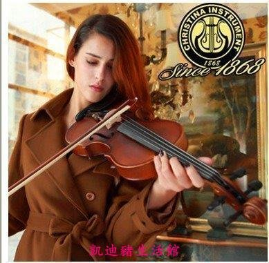 【凱迪豬生活館】正品Christina v01仿古手工考級初學者高檔兒童成人 小提琴 樂器KTZ-201049