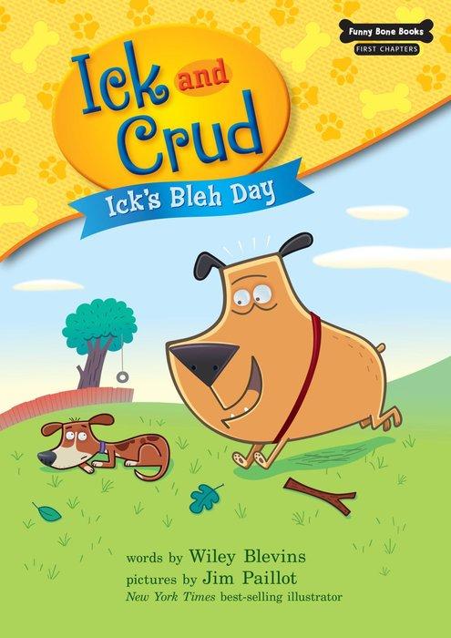 *小貝比的家*ICK AND CRUD: ICK'S BLEH DAY/平裝+CD/3~6歲