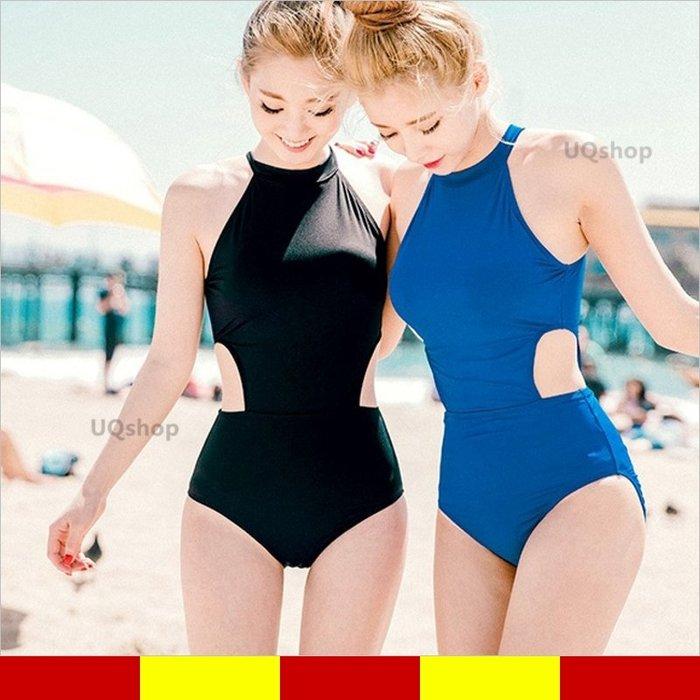 現貨 遊泳衣 學生泳衣 保守泳衣 連身泳衣 連身比基尼 連身泳裝 性感泳裝 女 泳衣 韓國韓版 顯瘦 女生泳裝 連體泳衣