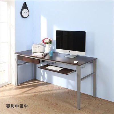 辦公室/電腦室【居家大師】低甲醛防潑水160公分單鍵盤穩重型工作桌 電腦桌 電腦椅 I-B-DE049WA-K