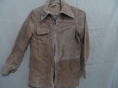 大熊舊書坊 -二手衣 童外套 寬42長67袖長52  50年代舊衣 退色-衣5