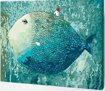 創意加~數字油畫DiY~窗前美景.每幅特價350元.