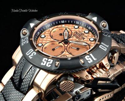 《大男人》Invicta Subaqua #3806海神瑞士大錶徑50MM個性潛水錶,特殊錶冠設計,值得收藏(現貨)
