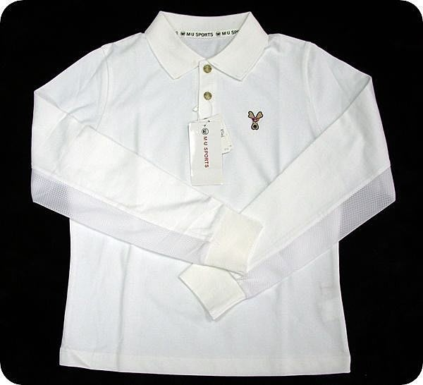 ﹝柒號倉庫﹞M.U.SPORTS 高球衫 MLF080W (現貨款-L)-零碼出清