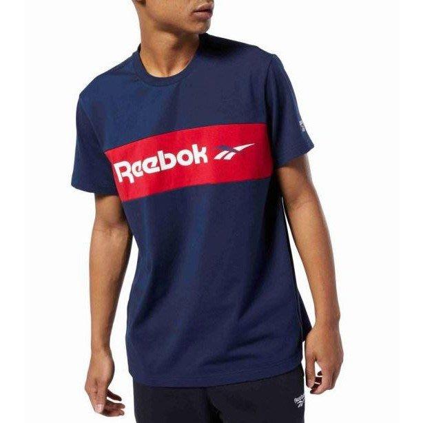 FOCA  REEBOK CLASSICS 藍紅 深藍  短袖T 基本款 經典 藍色 FQ3776 短t  銳步