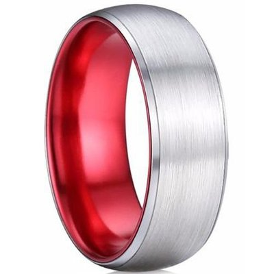 coi jewelry tungsten carbide two tone wedding band ring 戒指. All sizes