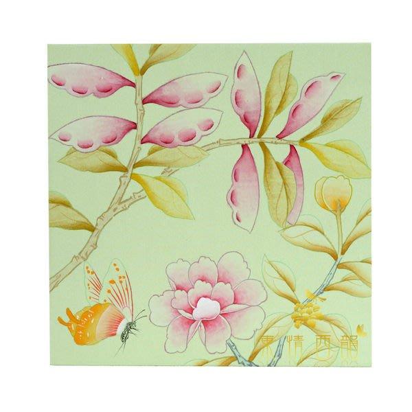 【芮洛蔓 La Romance】東情西韻系列手繪迷你絹絲畫飾 P / 掛飾 / 掛畫 / 壁飾