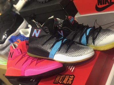 US.9黑色全新 New Balance OMN1S 籃球鞋正式登場OMN1S 象徵這雙鞋為不同風格