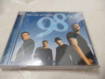 二手CD  [98度合唱團 天將神兵 98 Degrees/Revelation ]