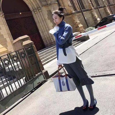Goyard兩用包媽媽包健身包購物袋旅行袋沙灘包部落客同款 帆布加皮革