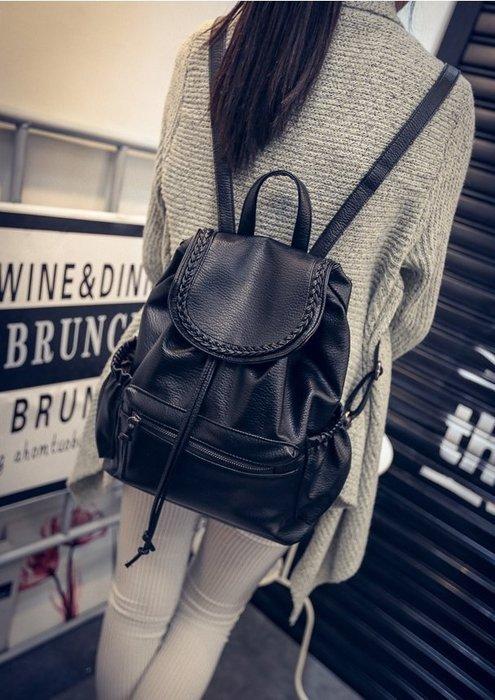 【實拍】柏斯菲-韓雙肩包女包學生書包背包旅行包/後背包/單肩/側背