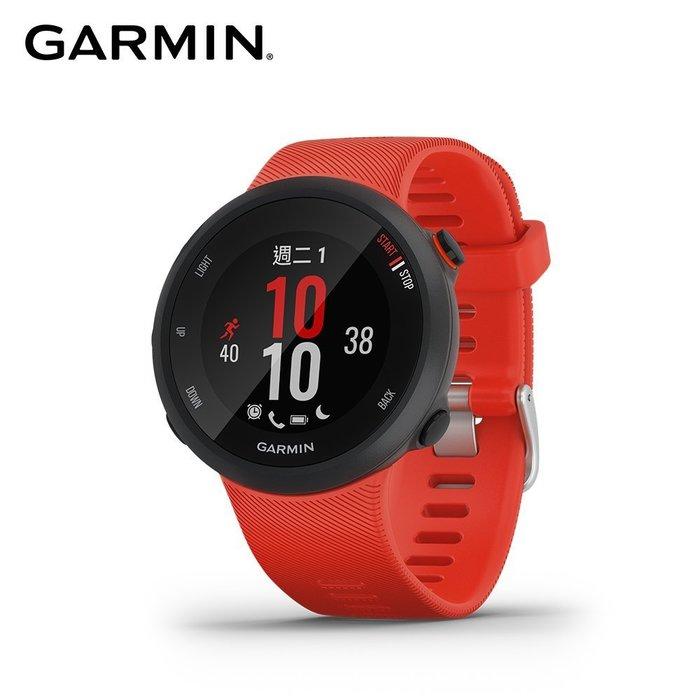 【桃園幸運草】*含稅**附發票* GARMIN Forerunner 45 GPS腕式心率跑錶|艷緋紅