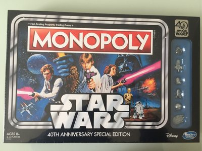 星球大戰 Star Wars 40週年紀念 大富翁 (英文版)