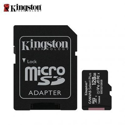 「Sorry」新款 100M 金士頓 MicroSD SDXC TF 128G C10 U1 A1 記憶卡 SDCS2