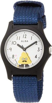 日本正版 SEIKO 精工 ALBA AQGS013 便便漢字教材 兒童錶 手錶  日本代購