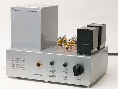 WAITING AUDIO MODEL-101 真空管 耳機擴大機 ( 前級 USB-DAC 耳擴 )