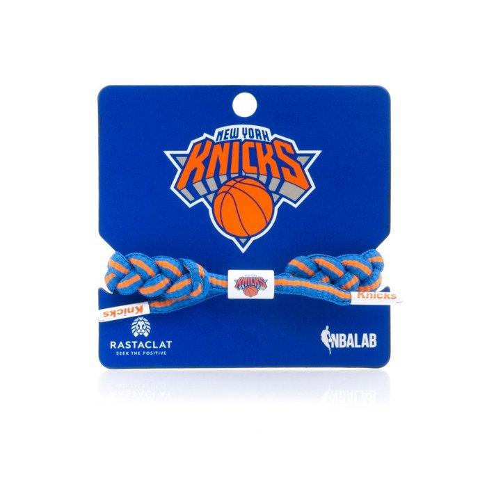 【Brand T】RASTACLAT NBA NEW YORK KNICKS 紐約尼克隊*球隊*鞋帶*手環*雷獅特*衝浪