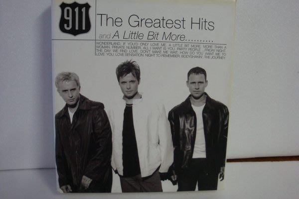 【銅板交易】二手原版CD♥911 青春紀錄全精選 The Greatest Hits And A Little Bit More