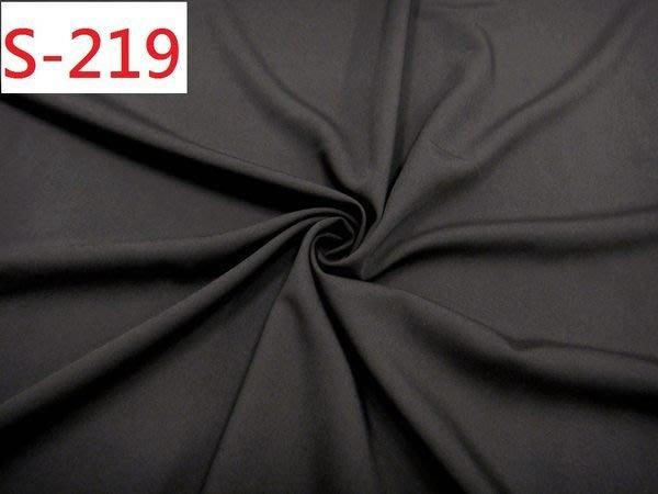 布料零售 布料批發 特價1呎30元【CANDY的家2館】精選布料S-219 彈性深咖斜紋磨毛套裝裙褲料