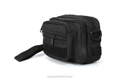 [01] M47 遊騎兵 戰術腰包 黑 ( 槍盒槍箱槍包槍套槍袋提袋手拿包外送生財小腰包MOLLE自行車腰包相機包臀包