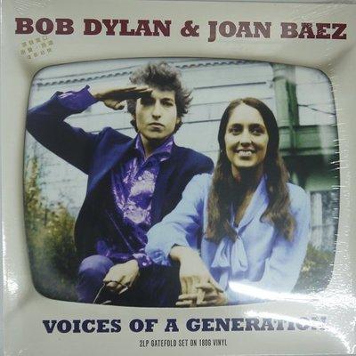 合友唱片 BOB DYLAN & JOAN BAEZ 黑膠 LP 面交自取