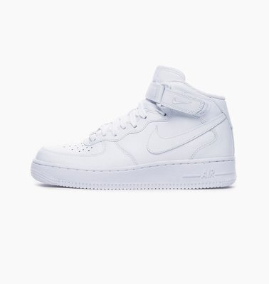 【EXIST】Nike Air Force 1 MID 白 Women 366731-100