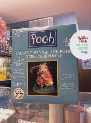 ArtLife @ Walt Disney Winnie Pooh Telephone 迪士尼經典稀有 小熊維尼 老電話