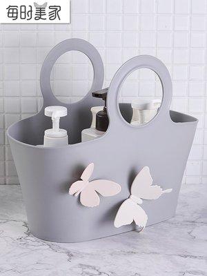 禧禧雜貨店--洗澡籃手提浴筐浴室洗漱沐...