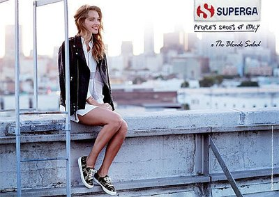 美國 全新 限量SUPERGA FOR THE BLONDE SALAD 迷彩 現貨 37.5