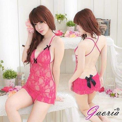 【Gaoria】糖心芭比 蕾絲 性感情趣睡衣 N4-0043