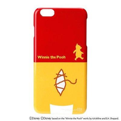 尼德斯Nydus~* 日本迪士尼 小熊維尼 Pooh 硬殼 手機殼 5.5吋 iPhone6+ 屁屁俏皮系列