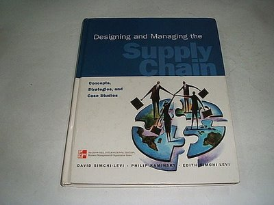 古集二手書 ~Designing and Managing the Supply Chain Simchi-Levi 0071169210