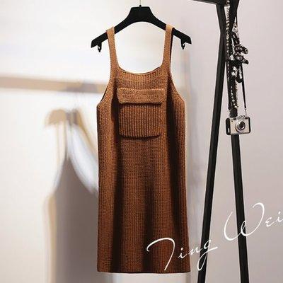 吊帶裙 Braces Skirt #I-028 馬甲背心裙