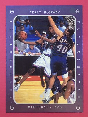 1997-98 SP Authentic Future Watch #166 Tracy McGrady RC