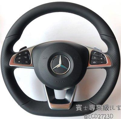 Benz 07年後 W204 W205 W212 W213 W207 CLA GLK SLK CLS SL AMG方向盤