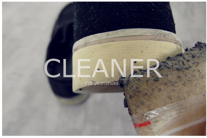 Myplace.com Cleaner / 鞋類去汙【天然生膠片】