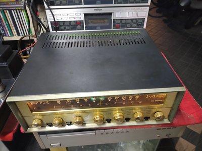 美國 古董 PILOT 654M 7591*4 真空管收音擴大機 整台總共10幾隻真空管 功能正常