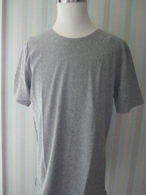 『安閣精品』二手真品RAGEBLUE 灰色長版 短袖 L號