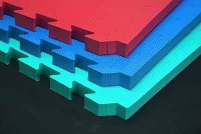 EVA 地墊 / 力波墊(100 * 100 * 3cm 紅、藍、綠三色自選(8片裝)