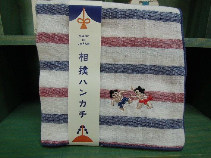 [Shizuka&you日本商品]京都Pocchiri相撲刺繡手帕