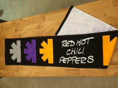 沛吉兔日貨館。RED HOT CHILI PEPPERS 嗆辣紅椒官方毛巾 /FUJI ROCK/THE GETAWAY