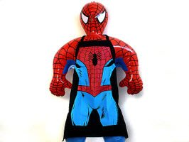 (I LOVE樂多)MARVEL系列SPIDER-MAN蜘蛛人圍裙 送禮自用兩相宜