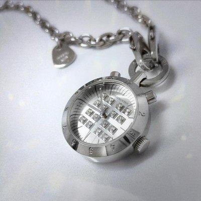 DYRBERG/KERN 丹麥名牌 懷錶項鍊