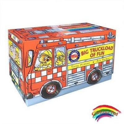 英文原版進口繪本  Amazing Machines Big Truckload of Fun 14冊 禮盒裝神奇的機器 交通工具科普認知童書提高孩子動手力想象