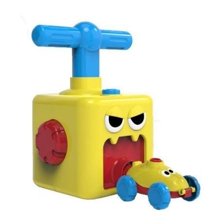 ☆天才老爸☆→動力氣球車←吹氣球 空氣動力 派對 寶寶 益智 科教 玩具 汽車 禮物 人氣 團購 批發