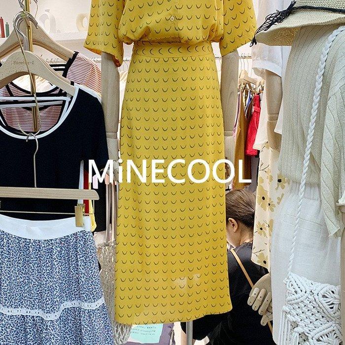 MiNE SHOP韓國高單時尚潮碎花半身裙M9527-8 兩色 SM