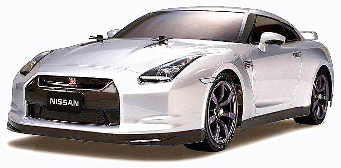 大千遙控模型  TAMIYA 51340 NISSAN GT-R (R35) 透明車殼